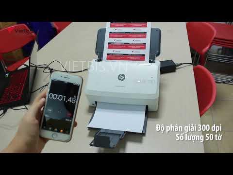 Chất lượng bản scan ở từng cài đặt độ phân giải với HP 3000 s3
