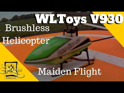 WLToys V930 RC Helicopter Flight Review 2018