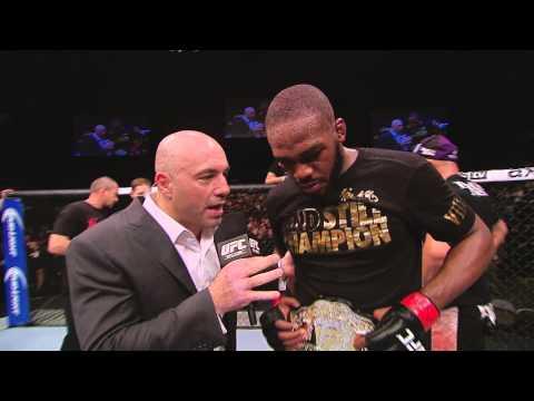 UFC 172: Jon Jones Octagon Interview