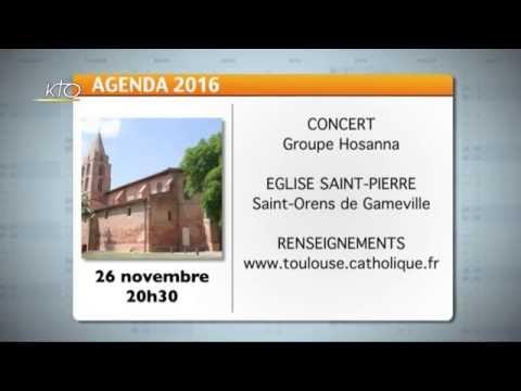 Agenda du 21 novembre 2016