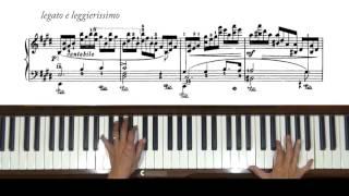 Chopin 'Wrong Note' Etude Op. 25, No. 5 Piano Tutorial