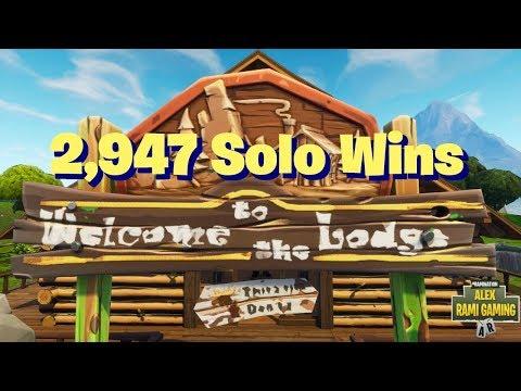 #1 Fortnite World Record 2,947 Solo Wins   Fortnite Live Stream