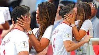 قبلات واحضان بين لاعبى كرة القدم والمشجعين ● لحظات لاتنسى ● - dooclip.me
