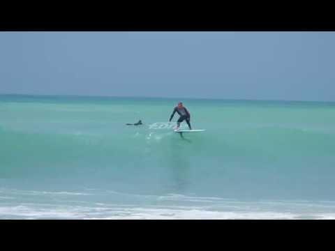 Surf Foil - Manu Portet in Pays Basque