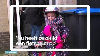 Fietshelm verplichten? Fem (5) kreeg een hersensch - RTL NIEUWS