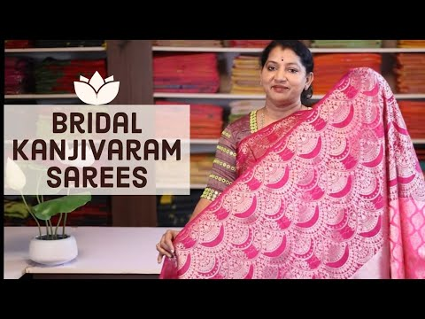 "<p style=""color: red"">Video : </p>New Bridal kanchi Pattu Sarees 