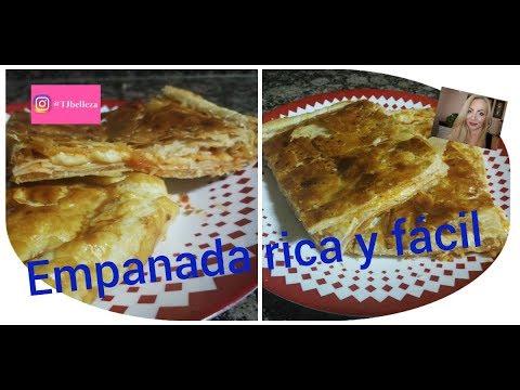 Empanada fácil de pavo y queso....Muy rica y rápida!!
