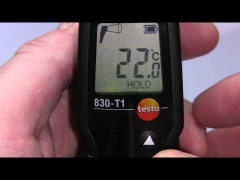 Testo 830-T1 Infrared Gun