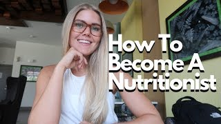 How To Become A Nutritionist   My Journey