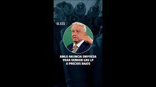 Andrés Manuel López Obrador anunció la creación de Gas Bienestar #Gas