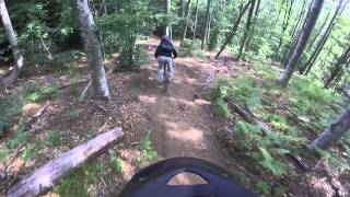 Local riders on the 57-52 trails.