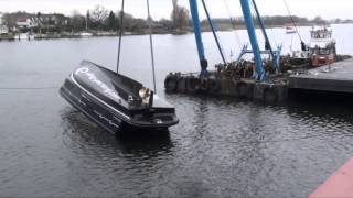 Яхта   Elling переворот на 360