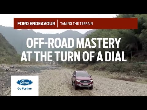 All-New Ford Endeavour: Taming the Terrain