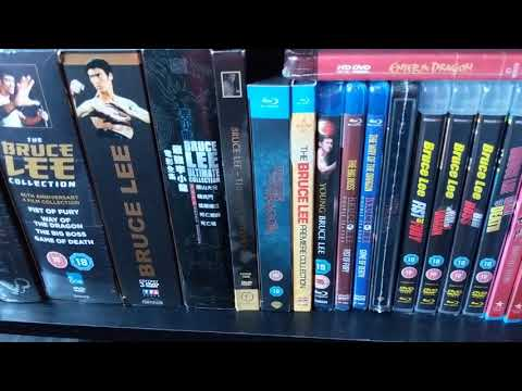 Bruce Lee memorabilia collection of his movies