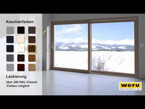 WERU GmbH - Hebeschiebetür - Bedienkomfort auf höchstem Niveau