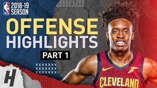 Collin Sexton BEST Offense Highlights from 2018-19 NBA Season! Rookie Montage (Part 1)