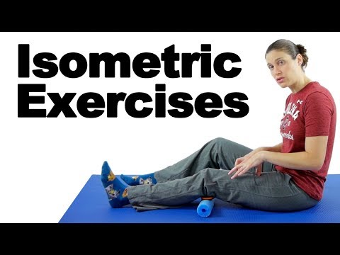 Knee & Hip Isometric Exercises - Ask Doctor Jo