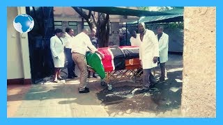 Body of the late Kenyan Ambassador to South Sudan Chris Karumba Mburu
