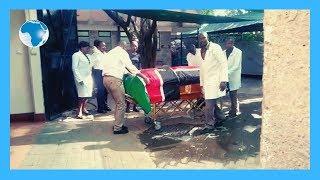 Body of the late Kenyan Ambassador to South Sudan Chris Karumba Mburu