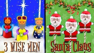 CHRISTMAS CAKE POPS- SANTA CLAUS & THE 3 WISE MEN
