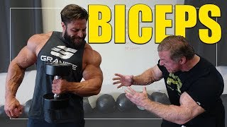 The Perfect Biceps Workout For 21 Inch Arms