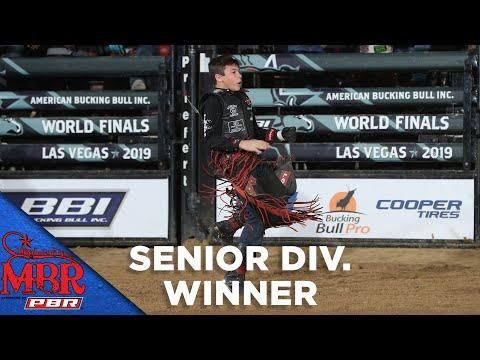 MINI BULL RIDERS: Paulo Crimber's Son, John Crimber, WINS MBR Senior Division Title | 2019