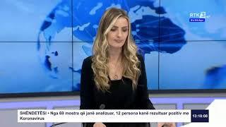 RTK3 Lajmet e orës 13:00 31.03.2020