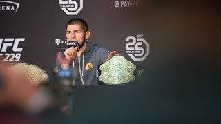 Khabib Nurmagomedov apologises for post-match brawl at UFC showdown