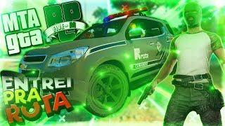 🎮 GTA MTA RP - ( FIZ O TESTE PRA ROTA - POLICIAL ) ‹ Wede Gameplay ›