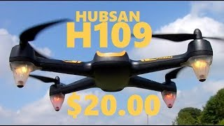 Hubsan X4 H109 Brushless $20 DRONE Jumper T8SG IN DEPTH DRONE REVIEW