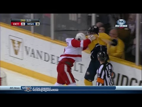Mike Fisher vs. Justin Abdelkader