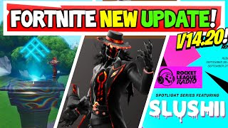 Fortnite Update: BTS Event FREE Emotes?! | Rocket Legue Radio Event! | v14.20 Changes