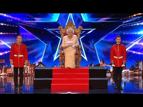 Britain's Got Talent 2019 The Queen Comedian Full Audition S13E01 (видео)