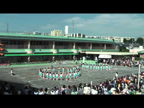 高ヶ坂幼稚園 平成26年度 運動会 ポンポン