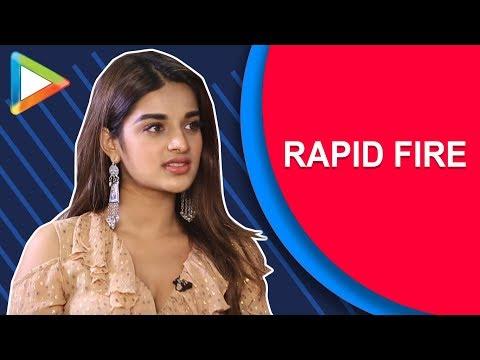 Tiger Shroff ya Varun Dhawan – Nidhhi Agerwal's AWESOME rapid fire   K.L.Rahul   Sanju   Padmaavat