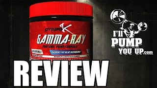 Dynamik Muscle - Gamma-Ray Supplement Review & Taste Test