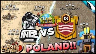 *INSANE WAR* Winner Goes to Poland! July ESL Qualifier - INTZ vs mAY dAY | Clash of Clans