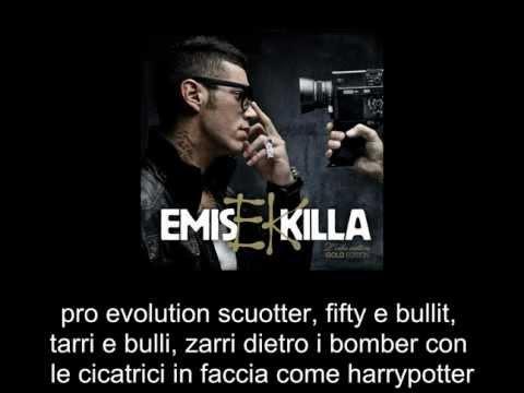 Emis Killa - Chissa Se Testo & Lyrics on screen    L'ERBA CATTIVA GOLD EDITION    2012