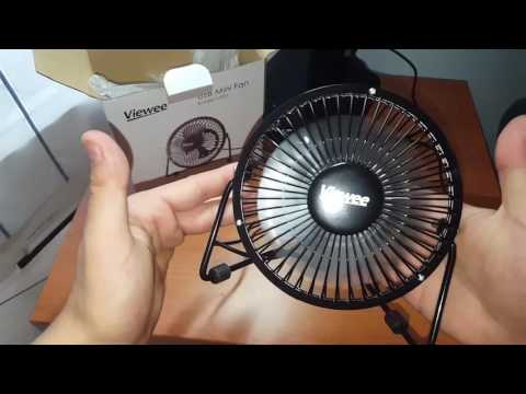 VIEWEE-UF01 Ventilatore USB/ Ventilatore da Tavolo/Scrivania/PC/Notebook