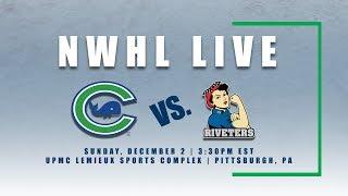 NWHL Live: Metropolitan vs. Connecticut 12.2.18