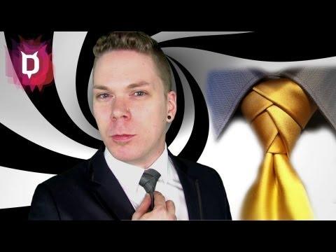 Eldredge Krawattenknoten - Krawatte binden Anleitung deutsch