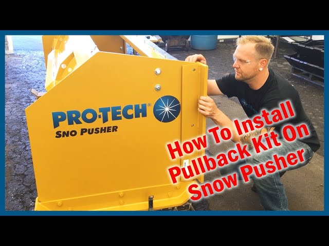How to Install Pullback Kit - Rubber Edge Sno Pusher