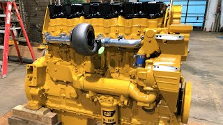 800+ Horsepower 17 Liter Caterpillar Diesel Engine Build from Start to Finish + 1973 Peterbilt