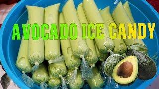 AVOCADO ICE CANDY(ice cream-like ice candy & super soft and yummy)