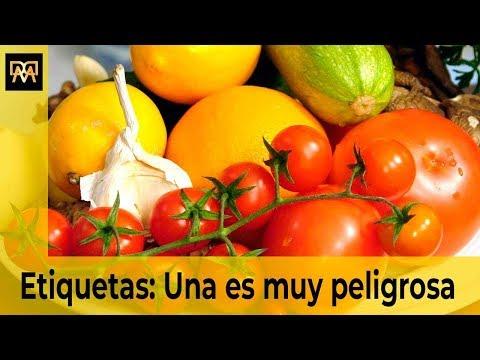 Aprende a leer las etiquetas de las frutas y verduras. Una es muy peligrosa