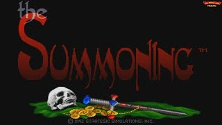 The Summoning (1992) - DOS Gameplay Video (PC MS-DOS)