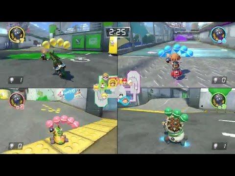 Mario Kart 8 Deluxe - Nintendo Switch Gameplay - Treehouse