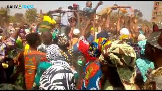 EXCLUSIVE: Osun residents struggle for free soft drinks