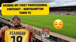 Signing My First Professional Football Contract – How I Become A Professional Footballer, My Story