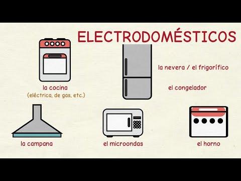 Aprender español: Los electrodomésticos 📺 (nivel intermedio)